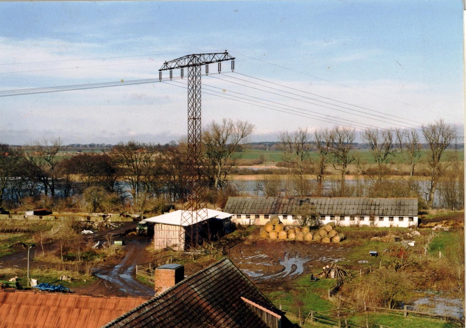 Bauernhaus und Kuhstall 2000