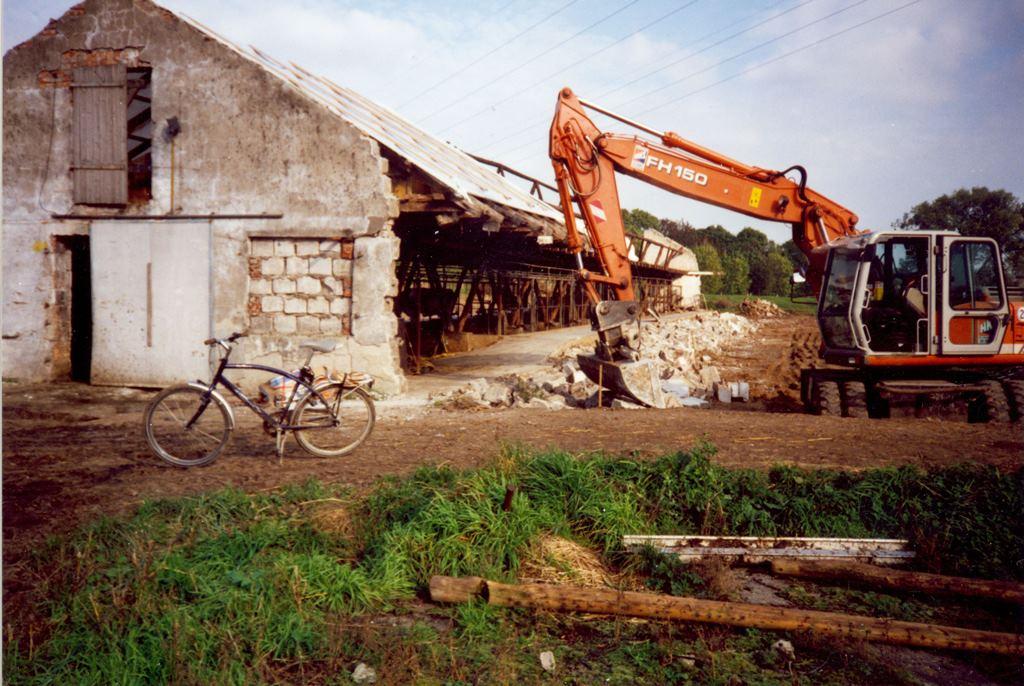 Baustelle Stall