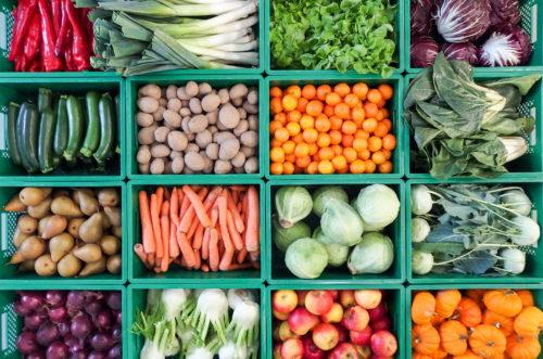 Vielfalt im Gemüseregal