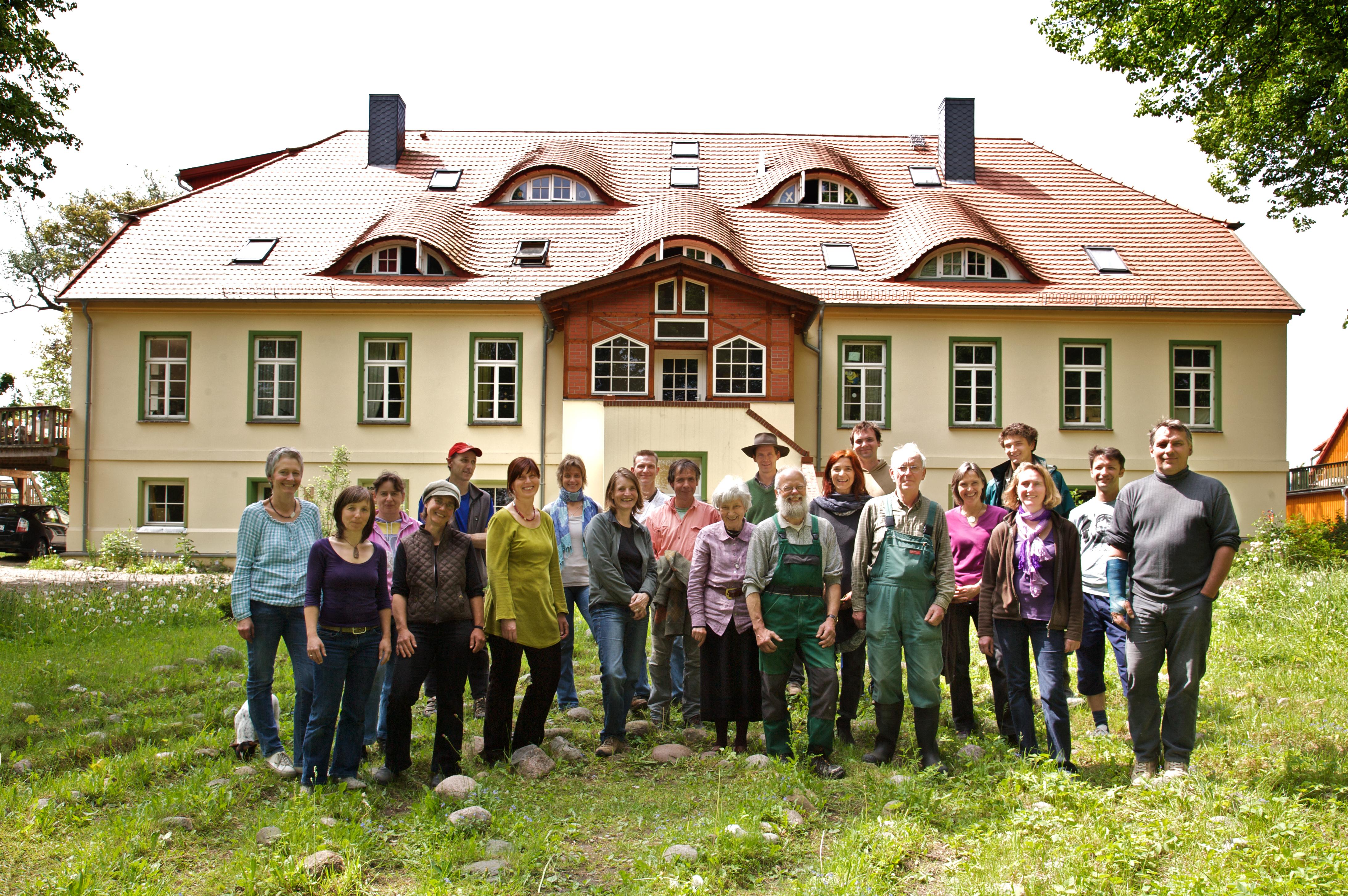Das Gutshaus und die Bewohner