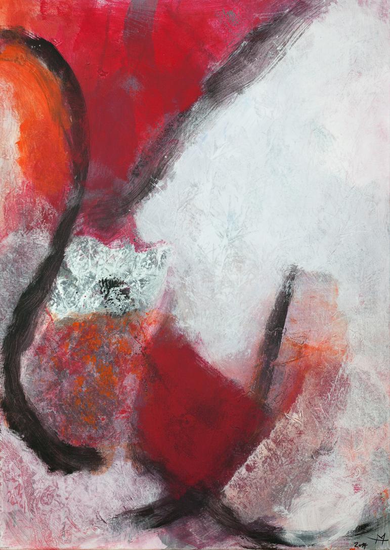Trilogie Rot (3)_ 70×50 cm