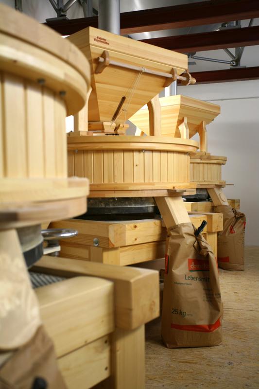 Die Mühlen der Mühlenbäckerei