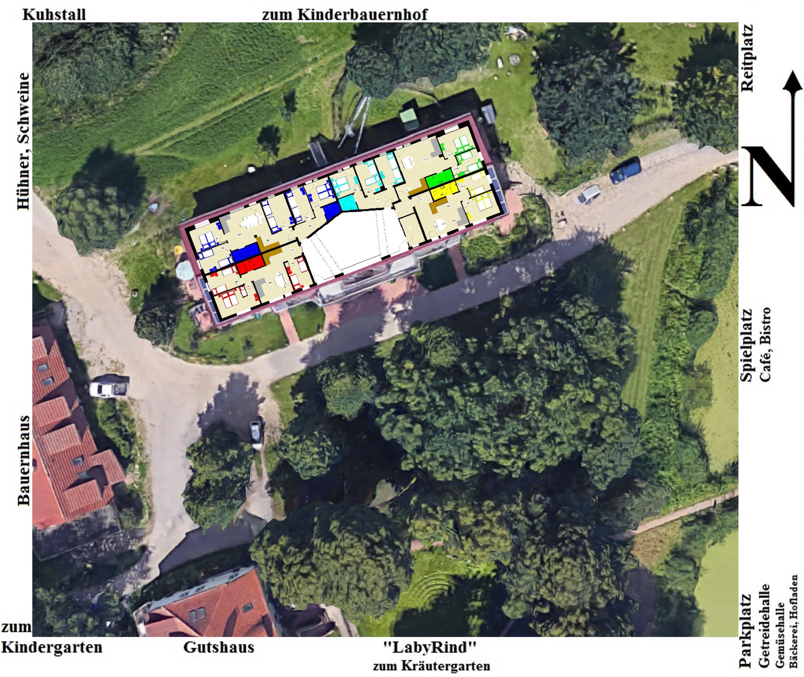 Ferienhof Ueberblick